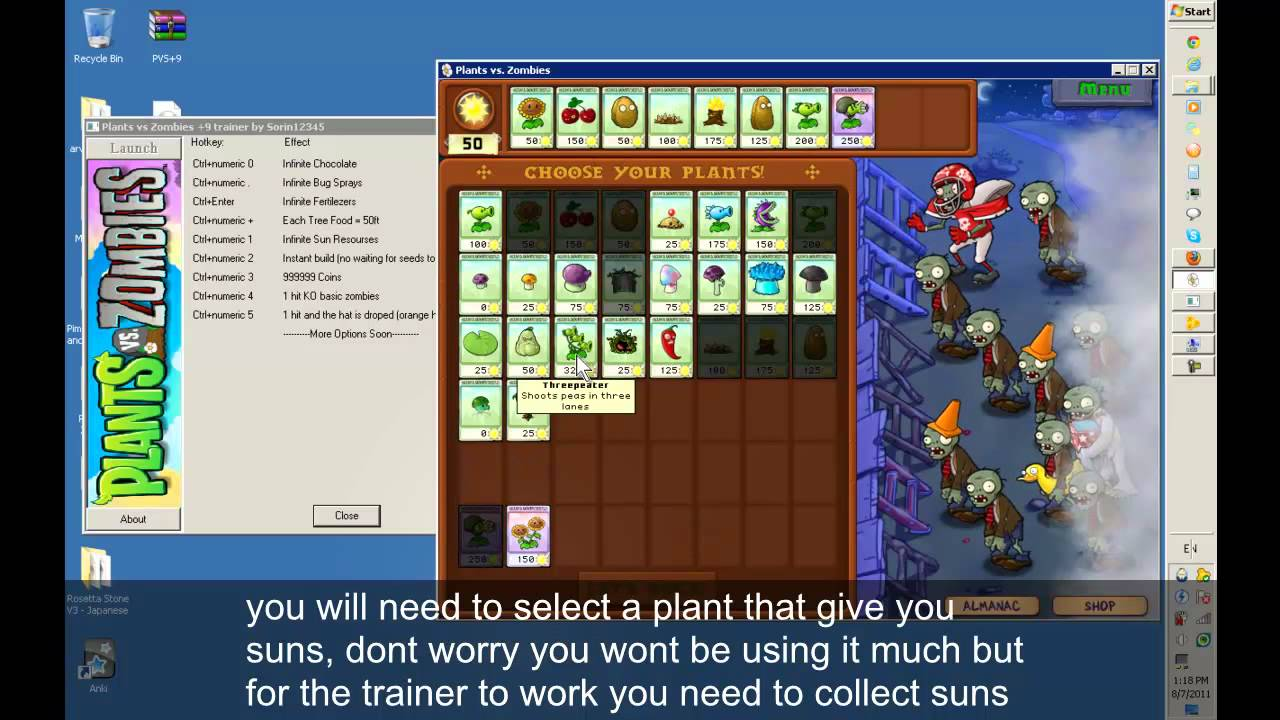 Hack plants vs zombies 2 purchased all plants, coins and gems.