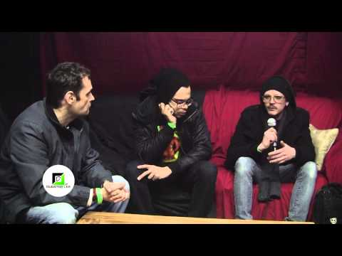 TK and Dink interview at Distorted Frequency in Detroit Feb. 28, 2015