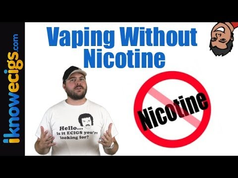 <b>Vaping Without Nicotine</b> | What You Need To Know - YouTube