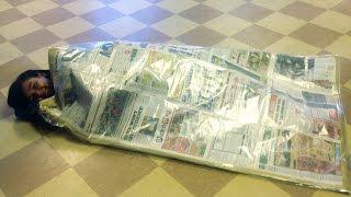 Make.change: A Diy Sleeping Bag For The Homeless