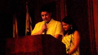Milton Fabián Solano y Natalia Cruz leen semblanza sobre José Zuleta Ortiz