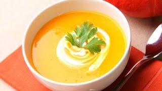 Как приготовить крем-суп из тыквы и карамелизированную морковку? Простой рецепт!(Как научится готовить быстро, просто и вкусно? Мы в сетях - не пропустите полезные советы и конкурсы Однокла..., 2014-11-22T09:41:00.000Z)