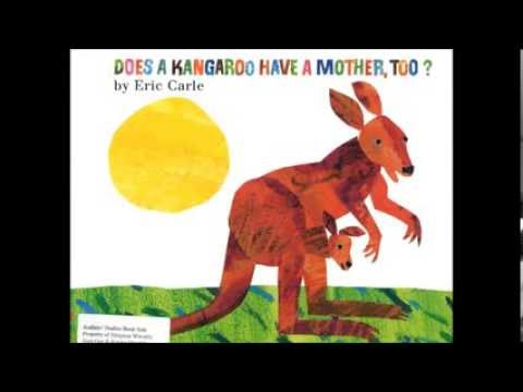 Aleishka Rios Reads Does a Kangaroo Have a Mother, TOO? by Eric Carle