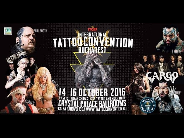 International Tattoo Convention Bucharest 2016