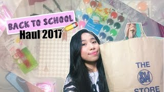 Back to School Supplies Haul 2017 (Philippines) | AltheaRae
