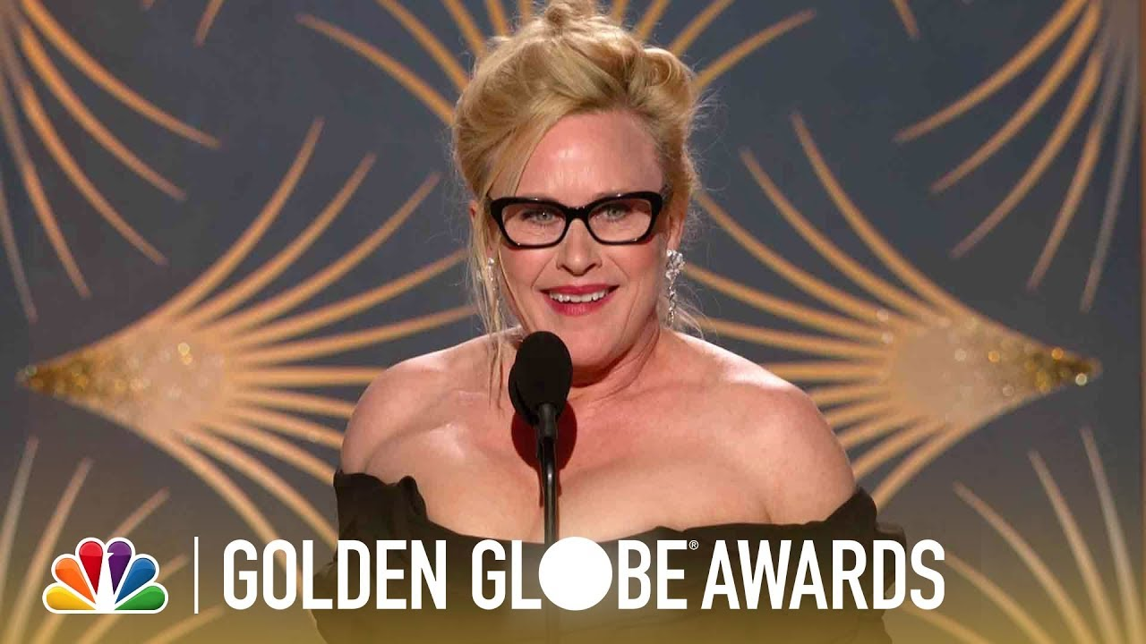 "Patricia Arquette Wins Supporting Actress Golden Globe for ""The Act"""