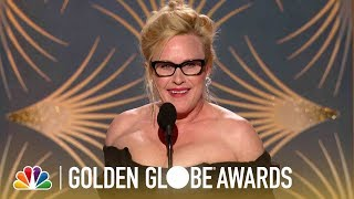 Patricia Arquette Wins Best Actress, Limited Series - 2019 Golden Globes (Highlight)