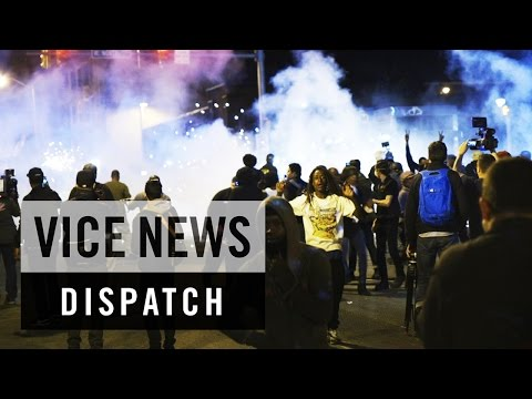 First Night of Baltimore's Curfew: State of Emergency - Baltimore, Maryland (Dispatch 1)
