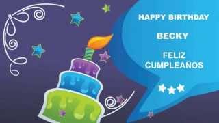 Becky - Card Tarjeta_562 2 - Happy Birthday