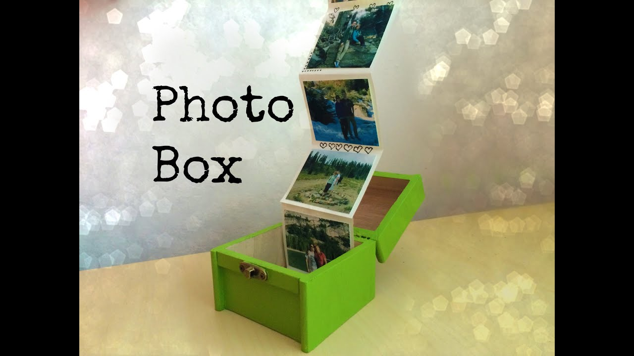 gift ideas for old family photos - Gift Idea for Friends or Family Box