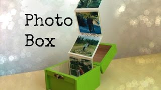 Gift Idea for Friends or Family: Photo Box