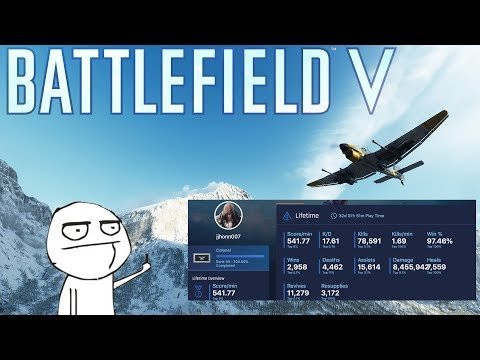 Battlefield V Console Cheater (jjhonn007)   Why The Stat Cheating Is So Bad... thumbnail