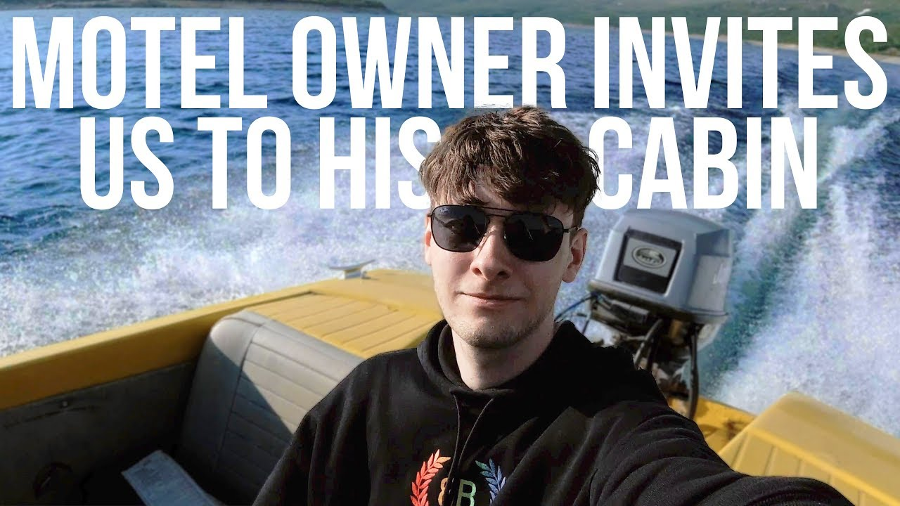 Motel Owner invited us to stay at his Cabin - Scandinavia Vlog 2