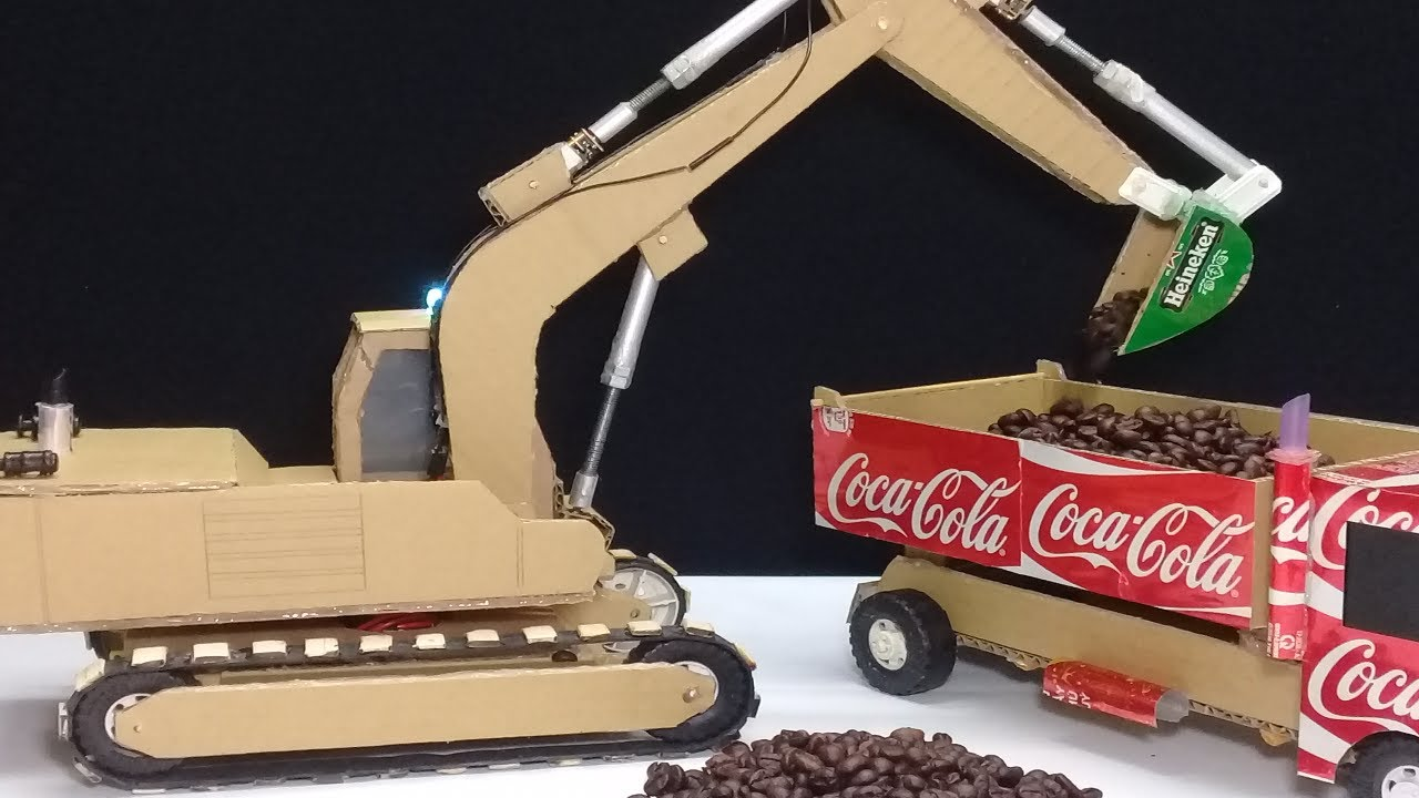 how to build a crane out of cardboard