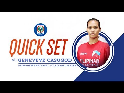 Quickset with Geneveve Casugod | ABS-CBN Sports Exclusive