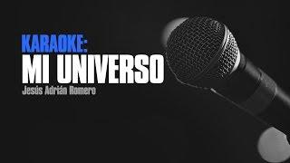 Karaoke - Mi Universo - Jesús Adrián Romero