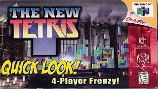 N64: The New Tetris! Quick Look - YoVideogames