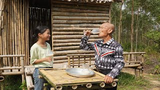 孙女想喝奶茶,大爷亲自做了一大锅,全家人都够喝了,太棒了|Making milk tea【可乐爷爷Cola Grandpa】