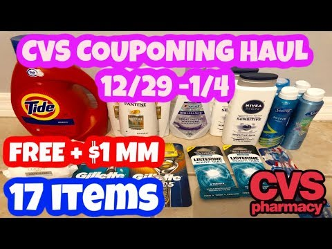 ANOTHER GREAT Cvs Couponing Haul 12/29/2019 - 1/4/2020 | FREE + $1 MM