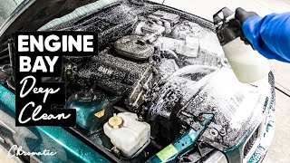 Deep Cleaning A Dirty BMW E36 Engine Bay