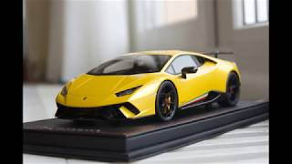 1/18 Lamborghini Huracan Performante  - by MR Collection Models