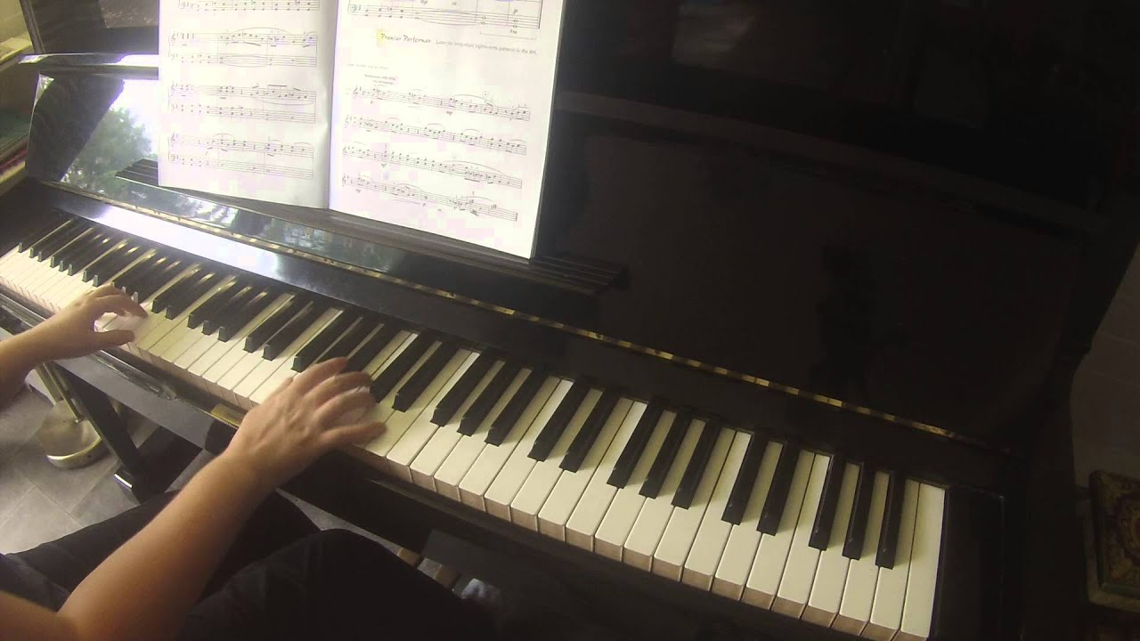 how to prepare for a piano performance