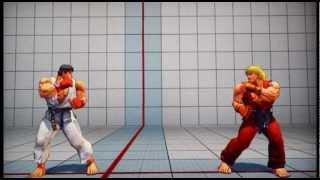 Aprenda a Jogar Super Street Fighter 4 Tutorial Ryu parte 1