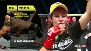 UFC Now 138: Top 5 Fights in Women