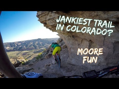 Jankiest Trail in Colorado? Moore Fun, Fruita