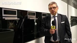 Eurocucina FTK 2018 | FULGOR - Paolo Mainardi descrive la nuova linea cucine Cluster Concept