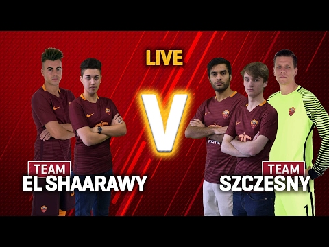 The AS Roma FIFA 17 Challenge: Szczesny v El Shaarawy