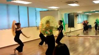 tari payung by sri anggun for cultural event