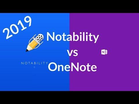 Notability vs OneNote: 2019 comparison
