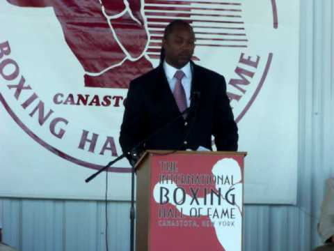 2009 International Boxing Hall Of Fame: Lennox Lewis