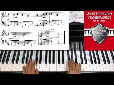 Page 11 Christmas Carol JOHN THOMPSON'S MODERN COURSE FO THE PIANO SECOND GRADE