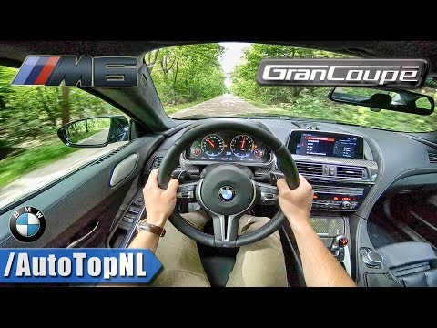 2018 BMW M6 GRAN COUPE Competition 600HP 4.4 V8 BiTurbo | POV Test Drive by AutoTopNL