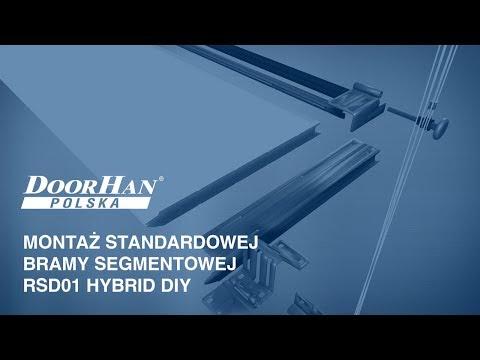 Jak zamontować garażową bramę segmentową RSD01 DIY firmy DoorHan