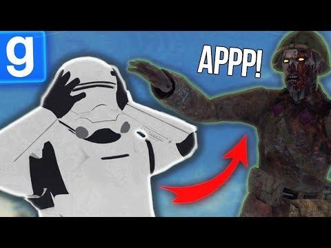 ЭТИ ЗОМБИ НАПАЛИ НА ПЕРВЫЙ ОРДЕН! ► Garry's Mod - Star Wars RP
