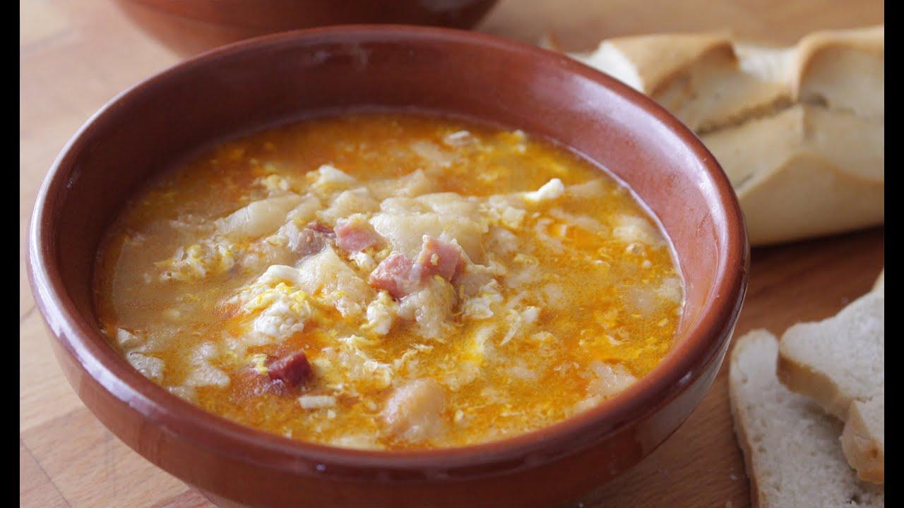 Sopa castellana receta tradicional youtube - Sopa castellana casera ...