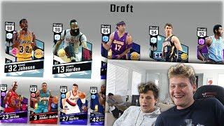 2 PLAYER DRAFT WITH JESSER NBA2K17 DRAFT! *BIZARRE*