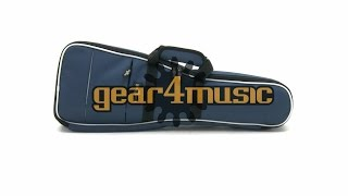 Deluxe Concert Ukulele Gig Bag by Gear4music