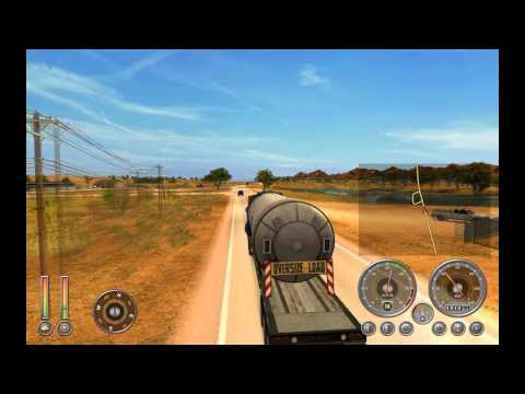 Let's Play Extreme Trucker 2 Gameplay Episode 1 Australia