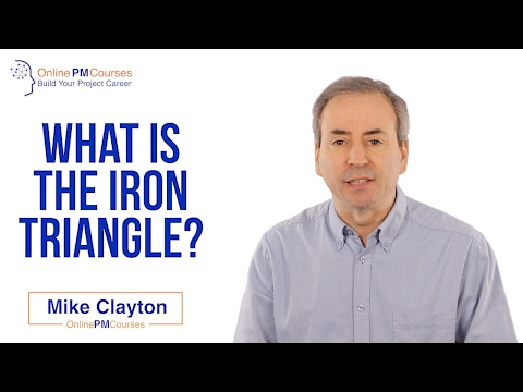 Project Management in Under 5: What is the Iron Triangle?
