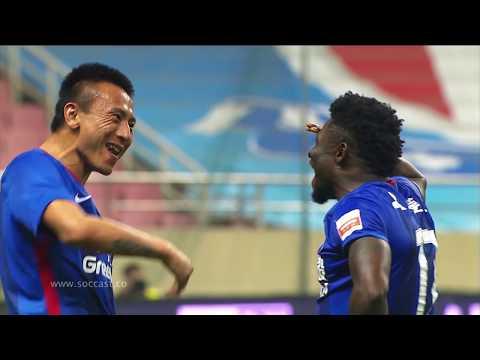 CSL2018 R4 SHANGHAI SHENHUA VS HEBEI CFFC GOALS! 4 2