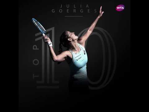 Julia Goerges has broken into the WTA top 10