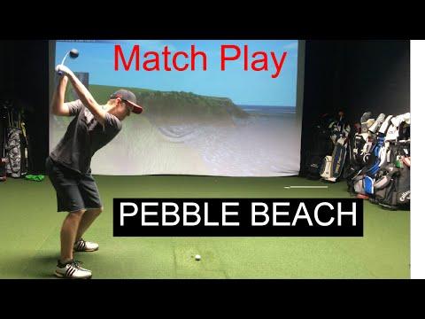 Golf Match Play at PEBBLE BEACH!