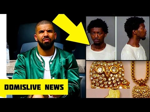 MAN ARRESTED in Drake's Jewelry Tour Bus Heist (Drake's DJ Jewelry Stolen)