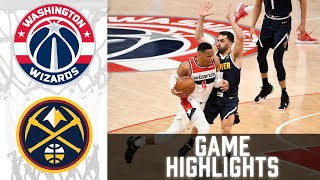 Wizards vs Nuggets HIGHLIGHTS Full Game | NBA February 25