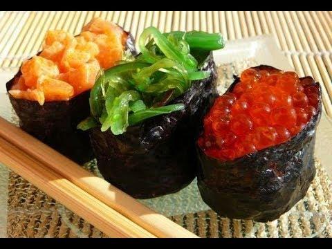 Гунканы/Спайси-суши/Гункан суши/Gunkan/Как приготовить дома