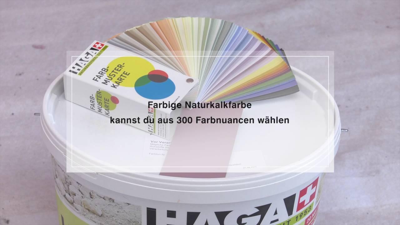 Kalkfarbe Hornbach wände streichen mit naturkalkfarben
